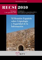 Cover for RECSI 2010. IX Reunión Española sobre Criptología y Seguridad de la Información