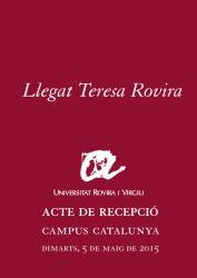 Cover for Llegat Teresa Rovira