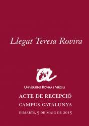 Cover for Llegat Teresa Rovira