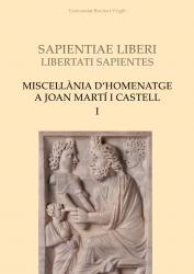 Cover for Miscel·lània d'homenatge a Joan Martí i Castell (I)