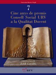 Cover for Cinc anys de premis Consell Social URV a la Qualitat Docent