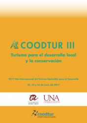 Cover for Turismo para el desarrollo local y la conservación: III Congreso de COODTUR