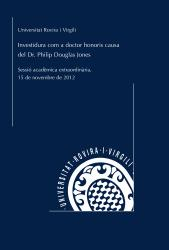 Cover for Investidura com a doctor honoris causa de l'Excm. Sr. Philip Douglas Jones