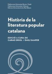 Cover for Història de la literatura popular catalana
