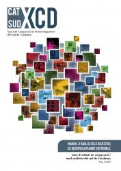 Cover for   Manual d'anàlisi dels objectius de desenvolupament sostenible: Guia d'entitats de cooperació i medi ambient del sud de Catalunya